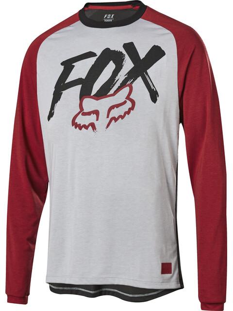 Fox Ranger Dr LS Jersey Youth steel gray